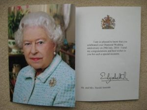 Queen telegram 1