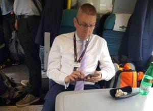 Rail boss