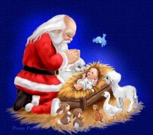 Santa or Jesus