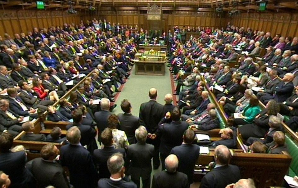 MP's in house of commons