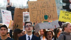 School climate strikes